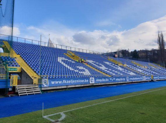 Rasvjeta za istočnu tribinu Stadiona Grbavica