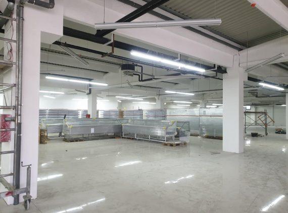 Rasvjeta na tržnom centru Robot – Doboj Jug